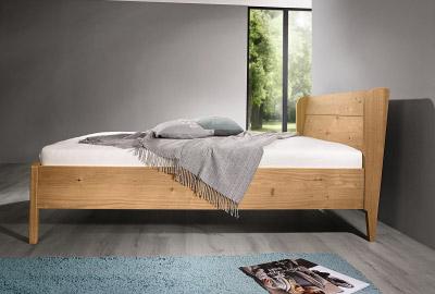 Massivholz Bett Alcamo Natur Schlaf
