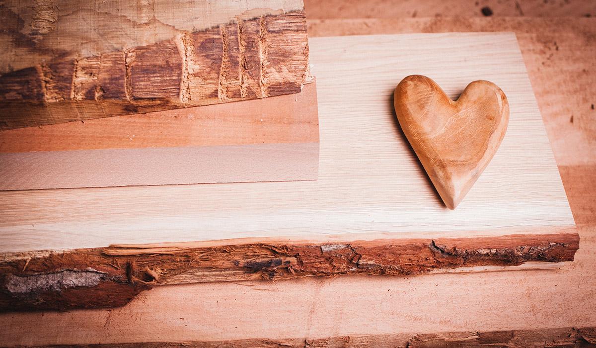Das Herz aus Holz