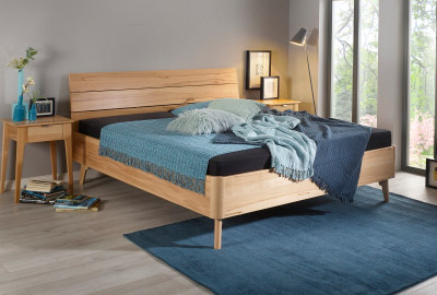 Massivholz Bett Pinto Natur Schlaf