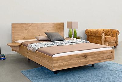 Massivholz Bett Puro Natur Schlaf