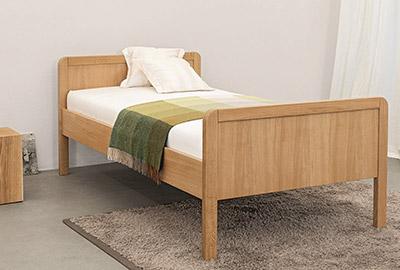 Massivholz Bett Bozen Natur Schlaf