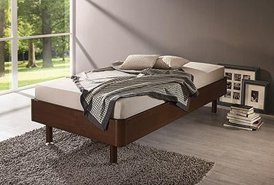 Massivholz Bett Brimo Natur Schlaf