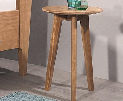 Nachttisch Holz Flip Schlafraummöbel
