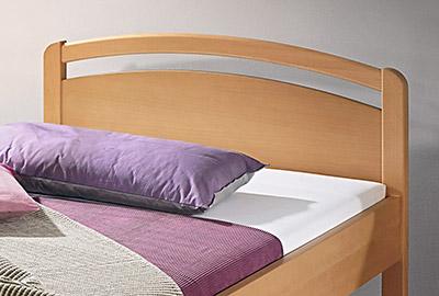 Massivholz Bett Venedig Natur Schlaf