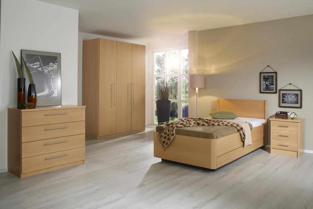 Massivholz Bett Palo Natur Schlaf